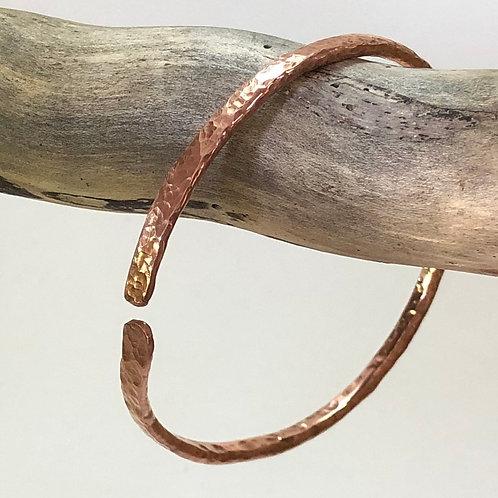 Copper Bangle  - Thin
