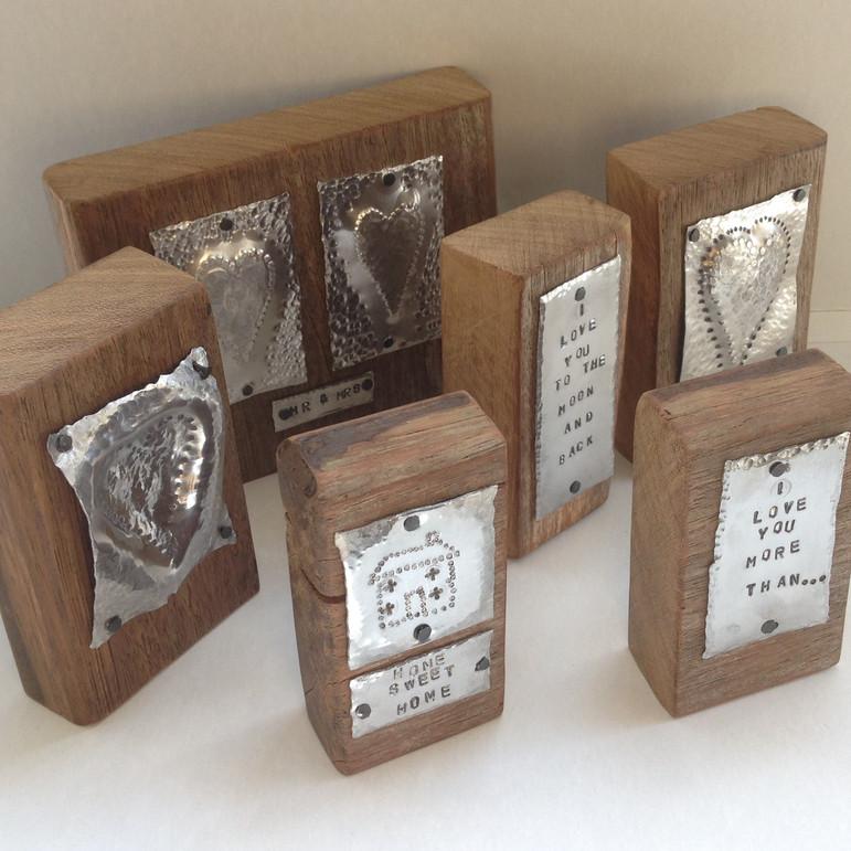 Reclaimed Wood and Aluminium