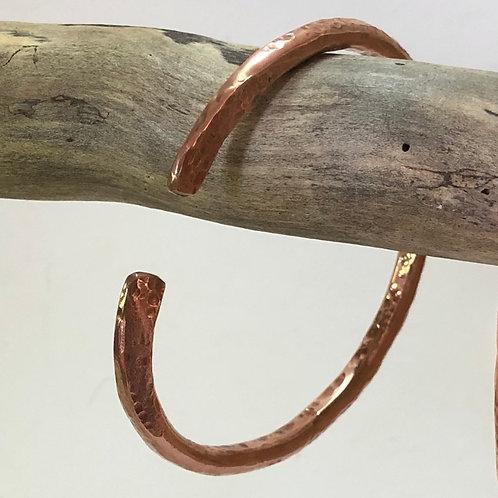 Copper Bangle Thick