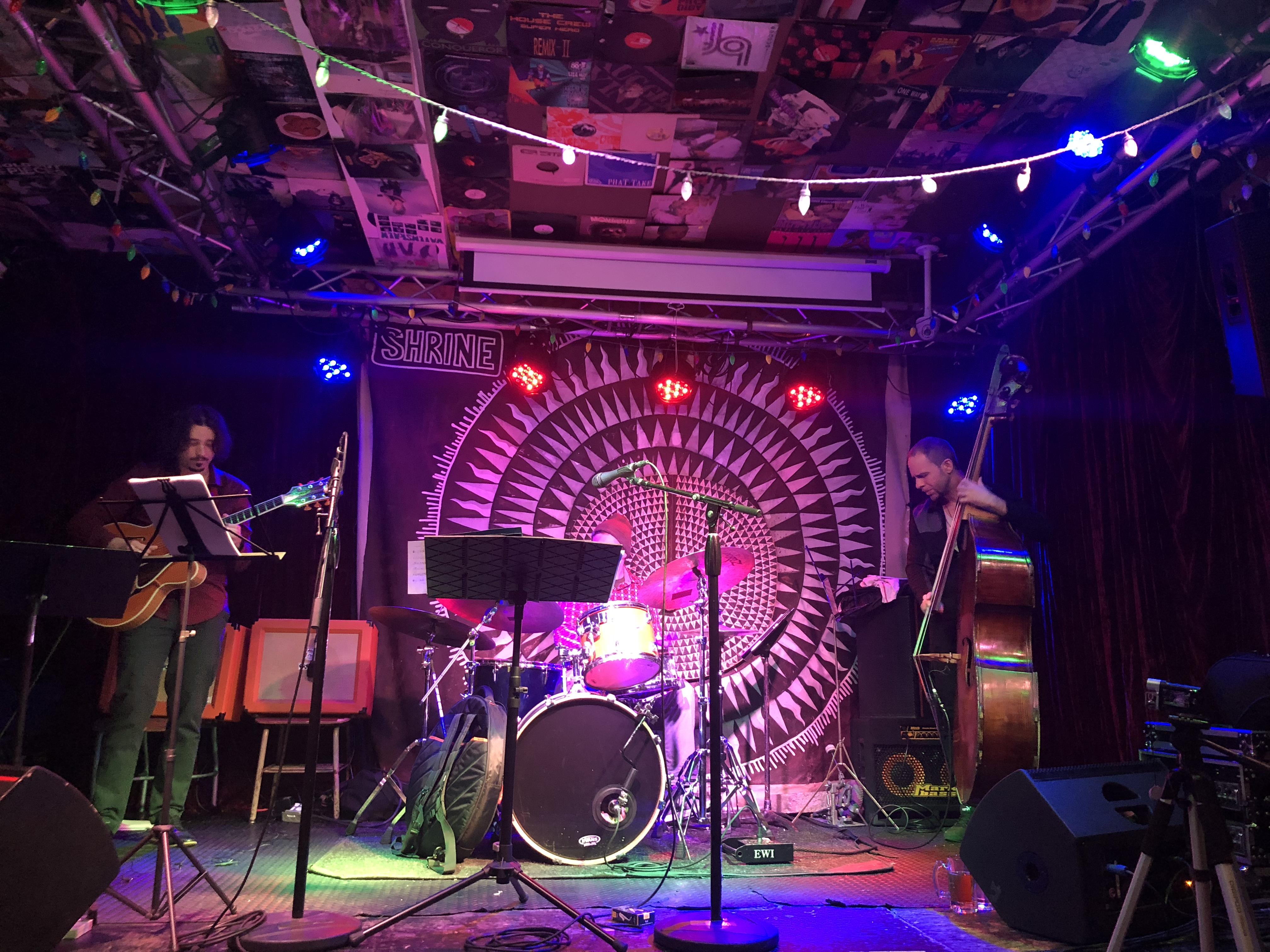 Trio at Shrine, Harlem