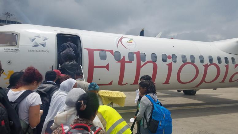 Heading back to Addis Ababa