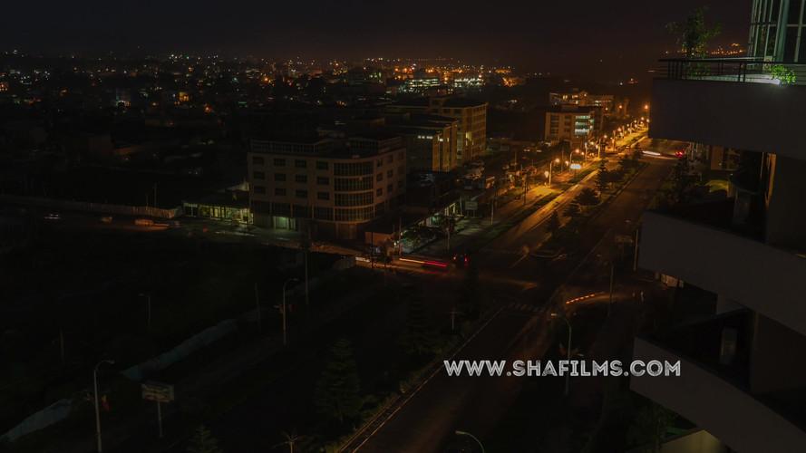 Mekkela Night time timelape in Mekelle,Ethiopia