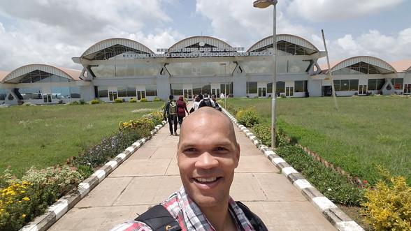 Airport in Mekelle, Ethiopia