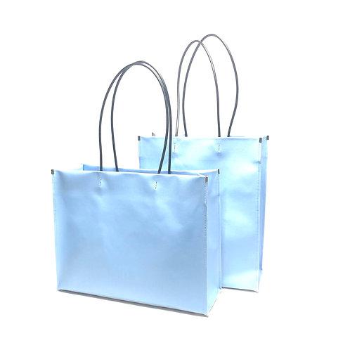 -ceramics- shopper bag blue