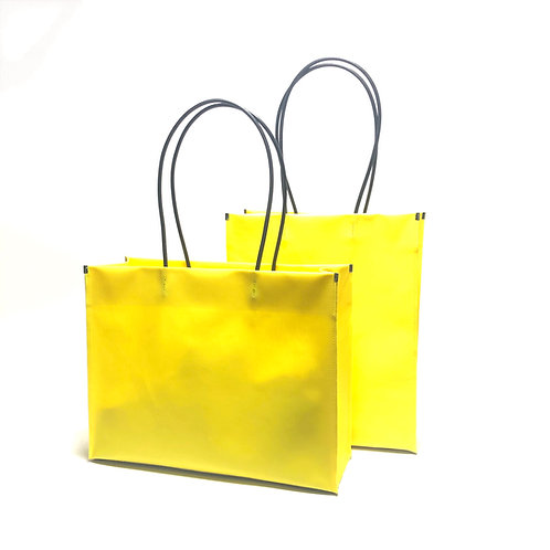 -ceramics- shopper bag yellow