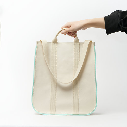 dairy tote green