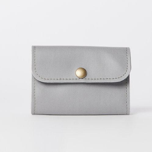 compact wallet gray
