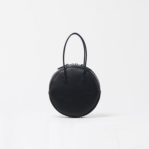 leather maru bag black