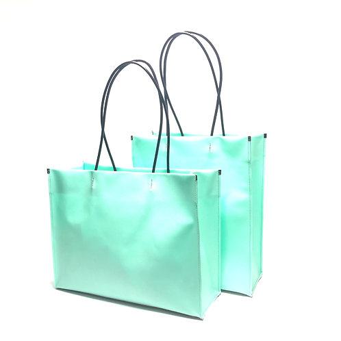 -ceramics- shopper bag green