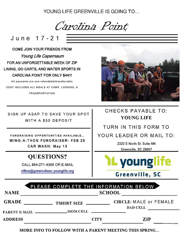 Send a teen to camp