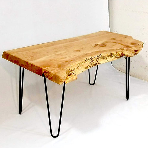 copy of Salvaged Maple Slab CoffeeTable