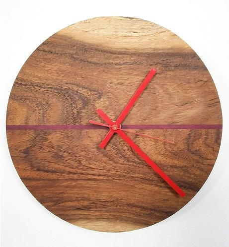 Claro Walnut Planetary Clock