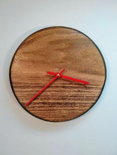 Poplar Planetary Clock