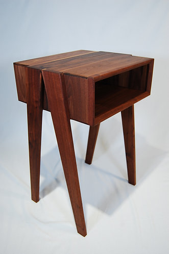 Walnut Night Stand/Side Table