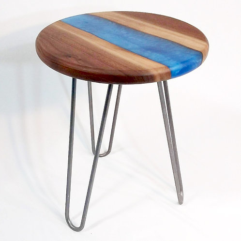 Hairpin Round Side Table