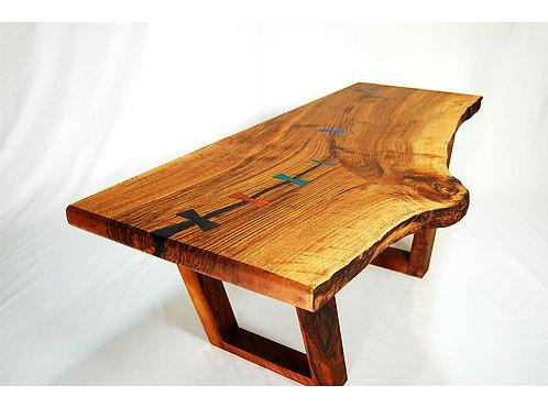 Walnut Bowtie Coffee Table