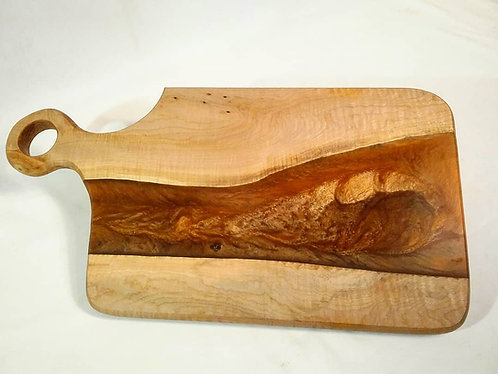 Charcuterie Board in Maple and Coppery-Orange 1