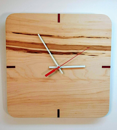 Maple CardinalKeys Clock