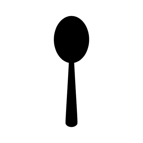 Serving Spoon (Solid)