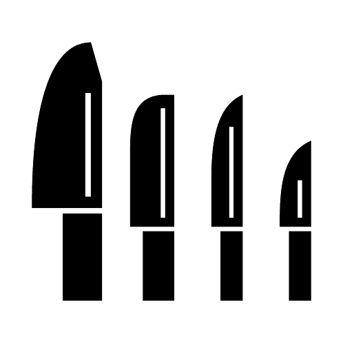 Kitchen Knives (Set of 4)