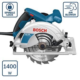 BOSCH Ripzāģis GKS190 190MM 1400W