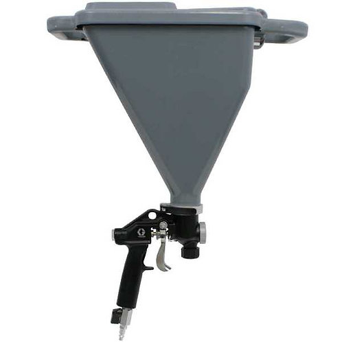 Pistole ar tvertni struktūras uznešanai GRACO
