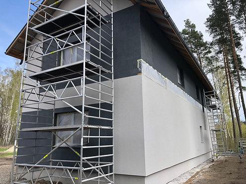 Alumīnija tornis 2.85x0.75x2m, Šaurais (N-2MS)