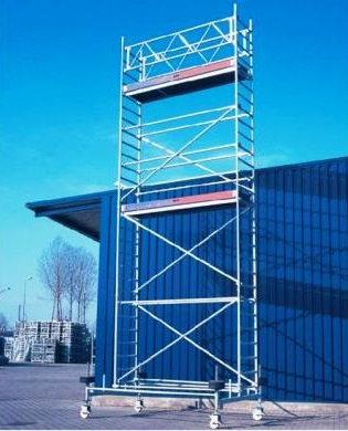 Alumīnija tornis 2.85x0.75x2m, Šaurais