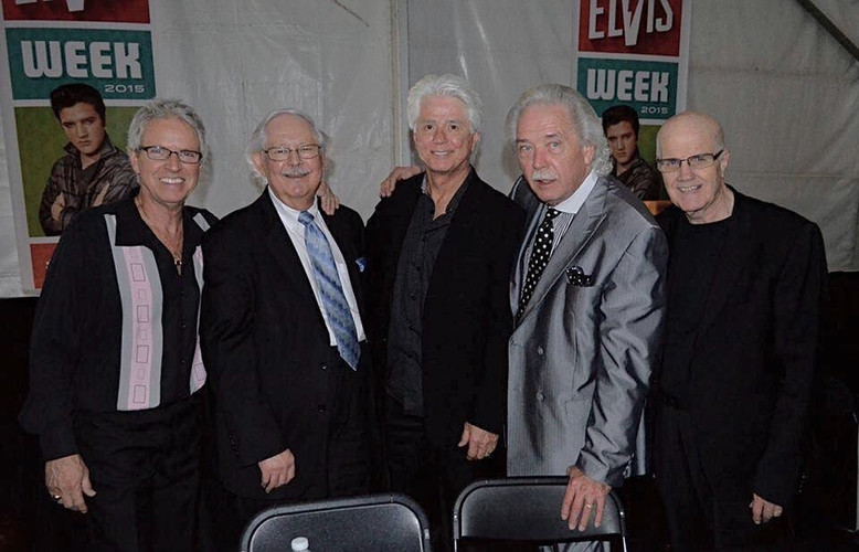 The Stamps with Mike Jefferies at Elvis Week
