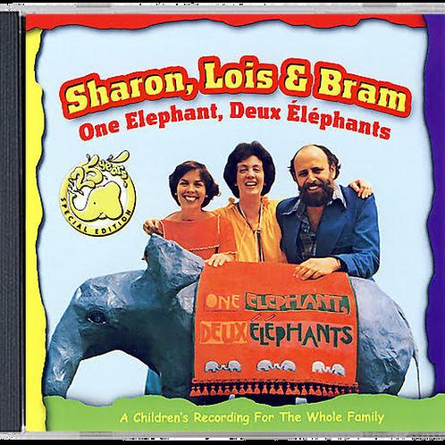 ONE ELEPHANT, DEUX ELEPHANTS CD