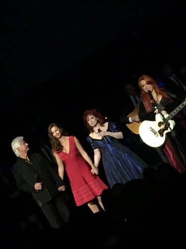 Me and my girls. Ashley Judd, Naomi Judd & Wynonna Judd