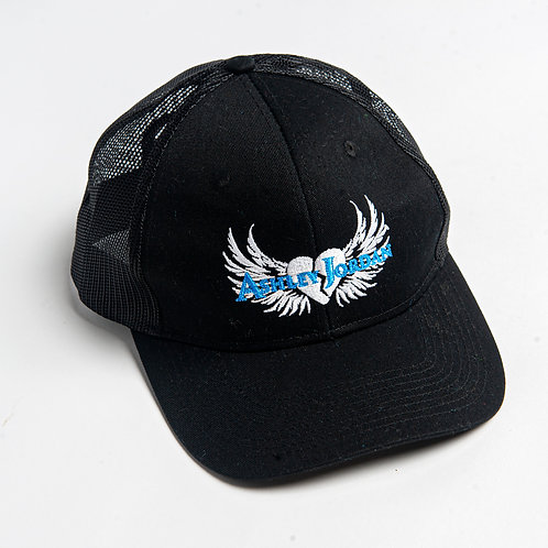 Ashley Jordan Black Trucker Hat