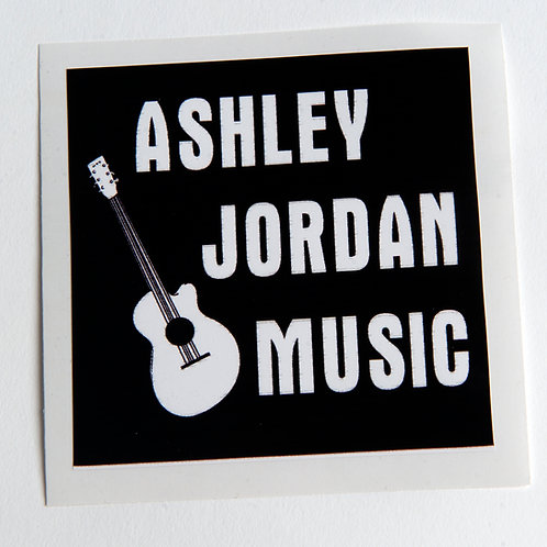 Vintage Ashley Jordan Sticker