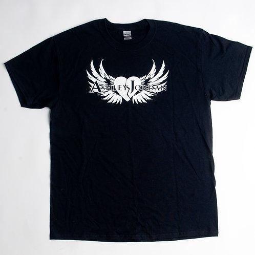 Mens Ashley Jordan Black T-shirt