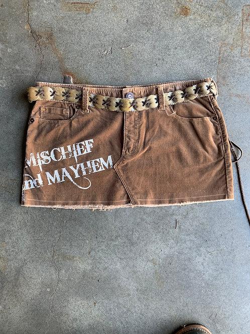 Mischief & Mayhem Corduroy Mini - Size 9