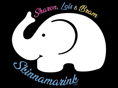 """SLB Elephant Sticker 3""""x2.5"""""""