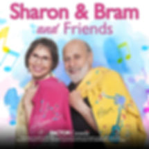 Sharon&Bram- Sharon,Bram & Friends Cover
