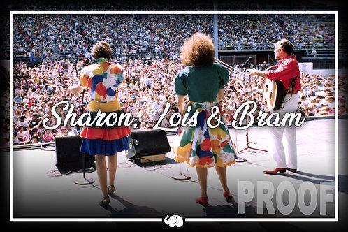 """Sharon, Lois & Bram Poster 12""""x18"""""""