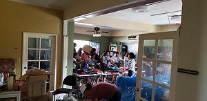 Typhoon Yutu Relief Distribution Center.
