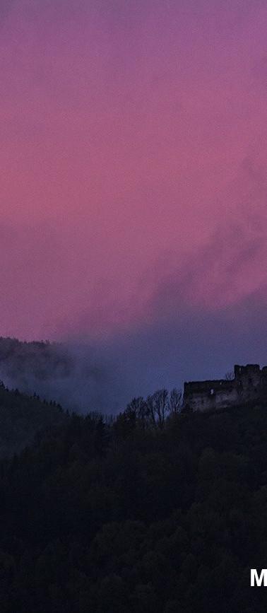 Považský castle, Slovakia