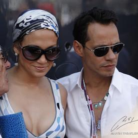 Bernie Ecclestone, Jennifer Lopez, Marc Anthony