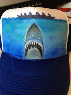 Jaws.Trucker Cap