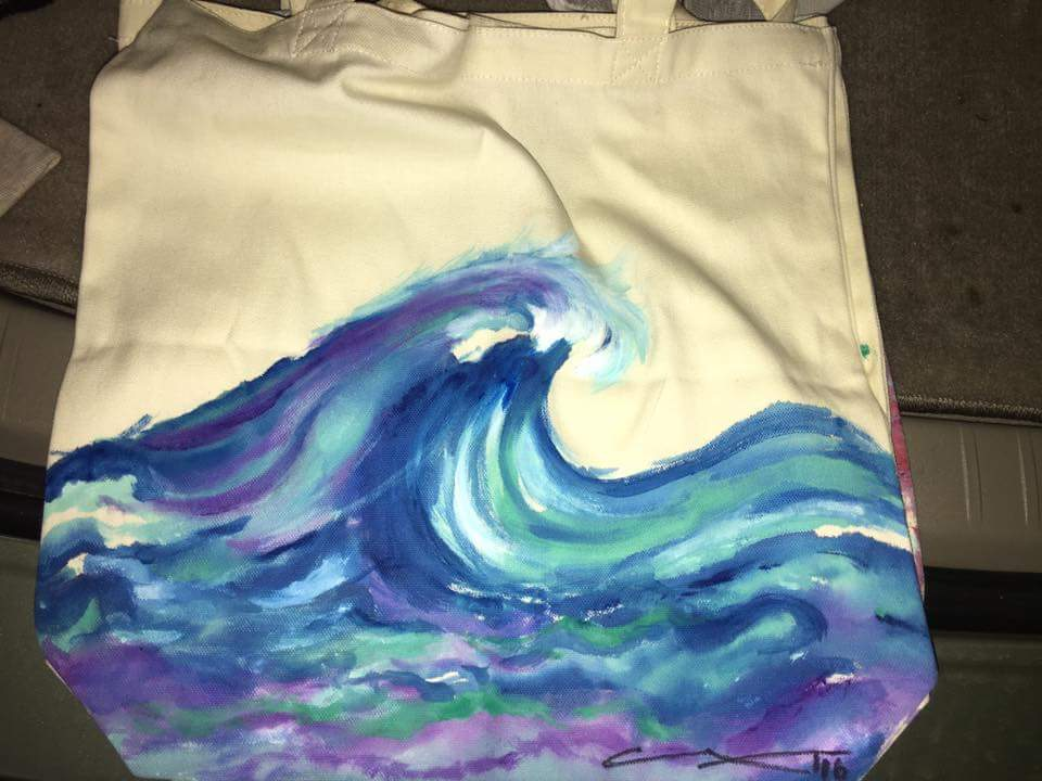 Wave.Cloth Bag