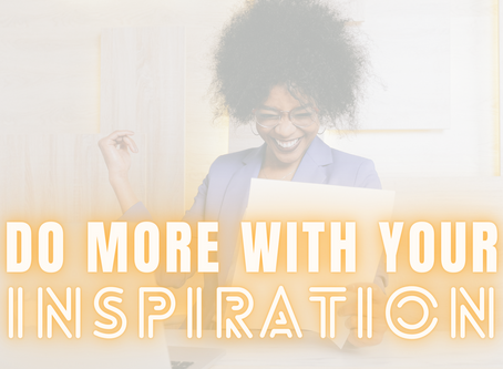 What's Your ITA: Inspiration To Action?