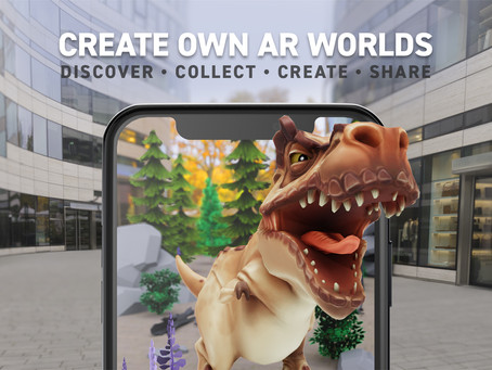 AR.fx AR worldbuilder about to launch!