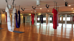 Studio ready for Aerial Class