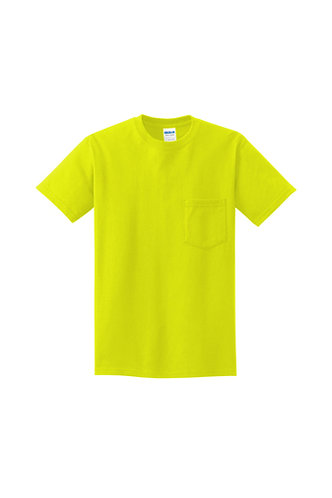 Peeking Pom Gildan® - Ultra Cotton® 100% Cotton T-Shirt with Pocket