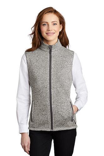 Pap Infinity L236 Port Authority ® Ladies Sweater Fleece Vest