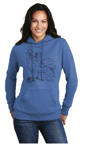 NP Stand Pap LPC78H Port & Company ® Ladies Core Fleece Pullover Hooded
