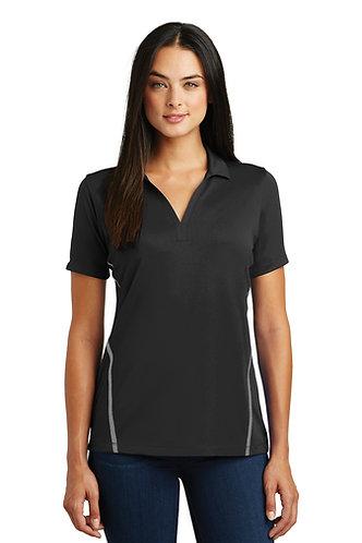 (USCSS) LST620 Sport-Tek® Ladies Contrast PosiCharge® Tough Polo®